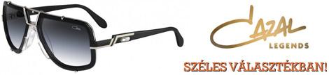 Cazal szemüvegkeretek széles választékban