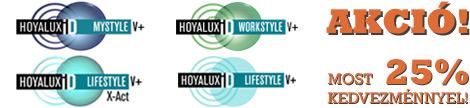 Hoyalux iD progresszív lencse akció 25% kedvezménnyel